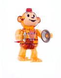 Classic Monkey Brown Wind-Up Toy