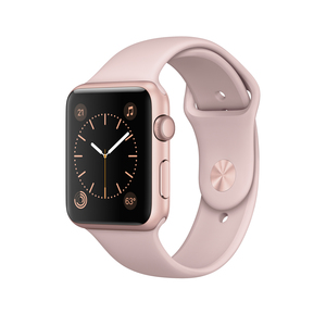 Apple Watch Series 1 42mm Sport Pink Sand With Rose Gold Aluminium Case