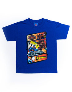 Superman Superman Vs Zod Royal Juvenile T-shirt