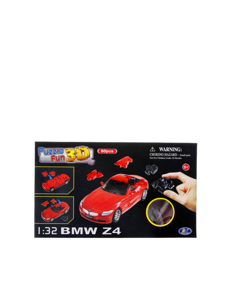 Happywell 1.32 Bmw Z4 Red 3D Puzzle