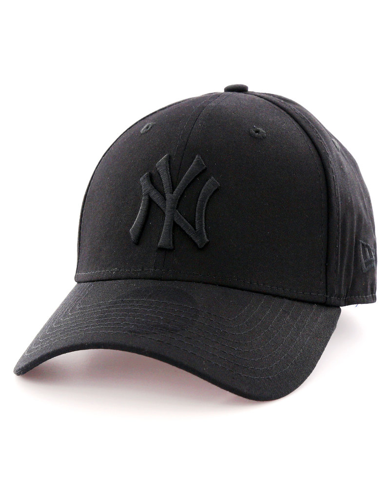 0cdf3b83b57 New Era MLB League Basic NY Yankees Black Black Cap
