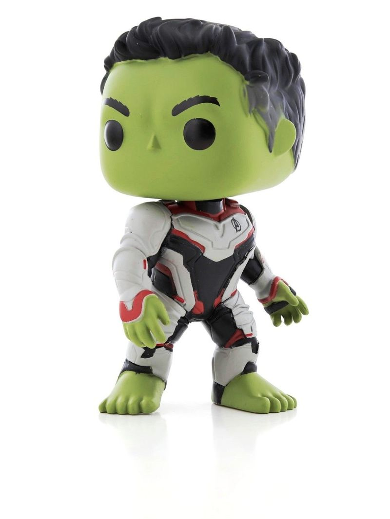 POP Avengers End Game Hulk Team Suit Vinyl Figure