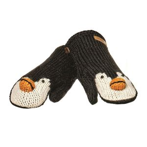 Peppy The Penguin Mittens