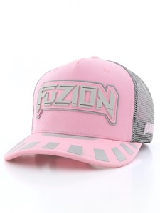 c095317c06f Fuzion Xtreme Baseball Women s Cap Pink Gray