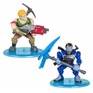 Fortnite Battle Royale Collection S1 Sgt Jonesey &     Carbide 2 Inch Duo Pack