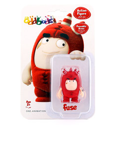 Oddbods Fuse 45mm Figurine