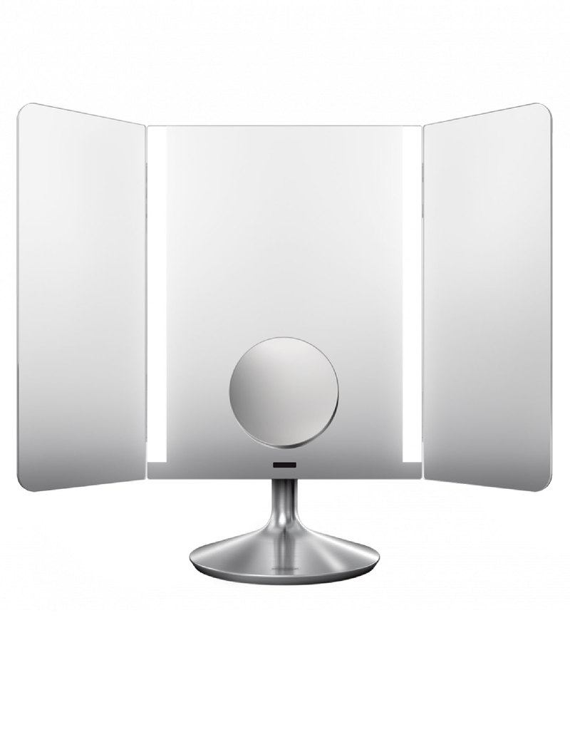 Simplehuman Sensor Mirror Pro 40 5cm Wide View Stainless Steel