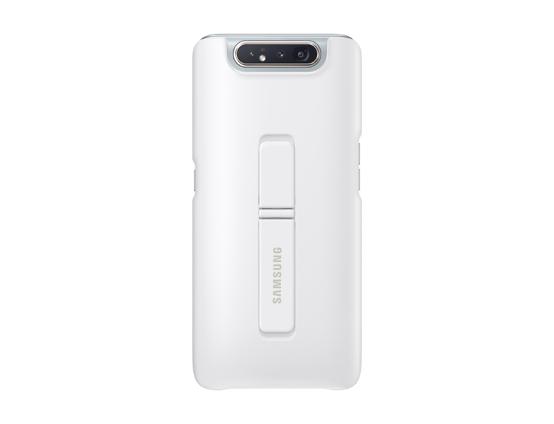 Samsung Standing Cover White for Galaxy A80