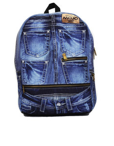 Mojo Denim Jeans Backpack