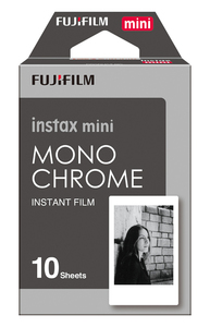 Fujifilm instax mini Monochrome Instant Film [10 Sheets]