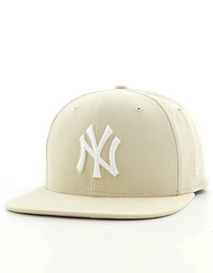 New Era Lightweight Ess NY Yankees Stone/Optic White Cap