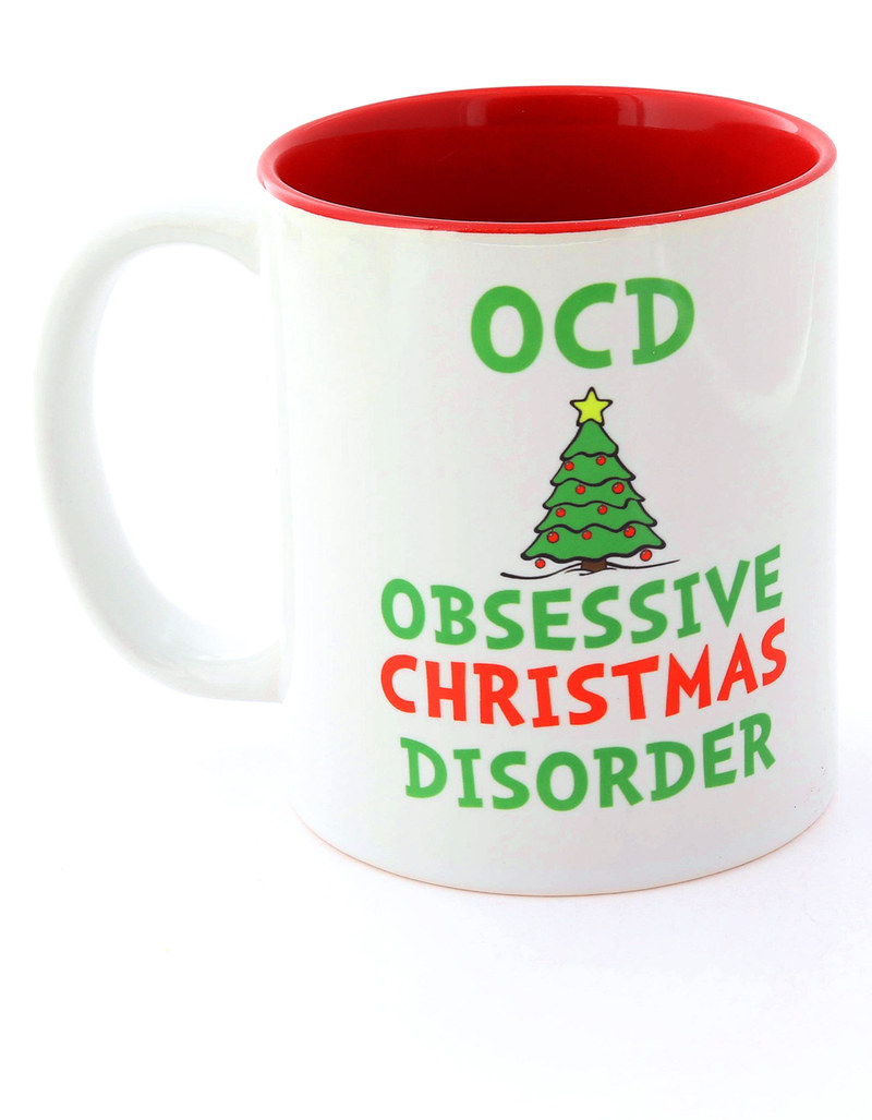 I Want It Now Obsessive Christmas Disorder Mug | Mugs & Tumblers ...