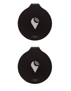 TrackR Bravo Black [2 Pack]