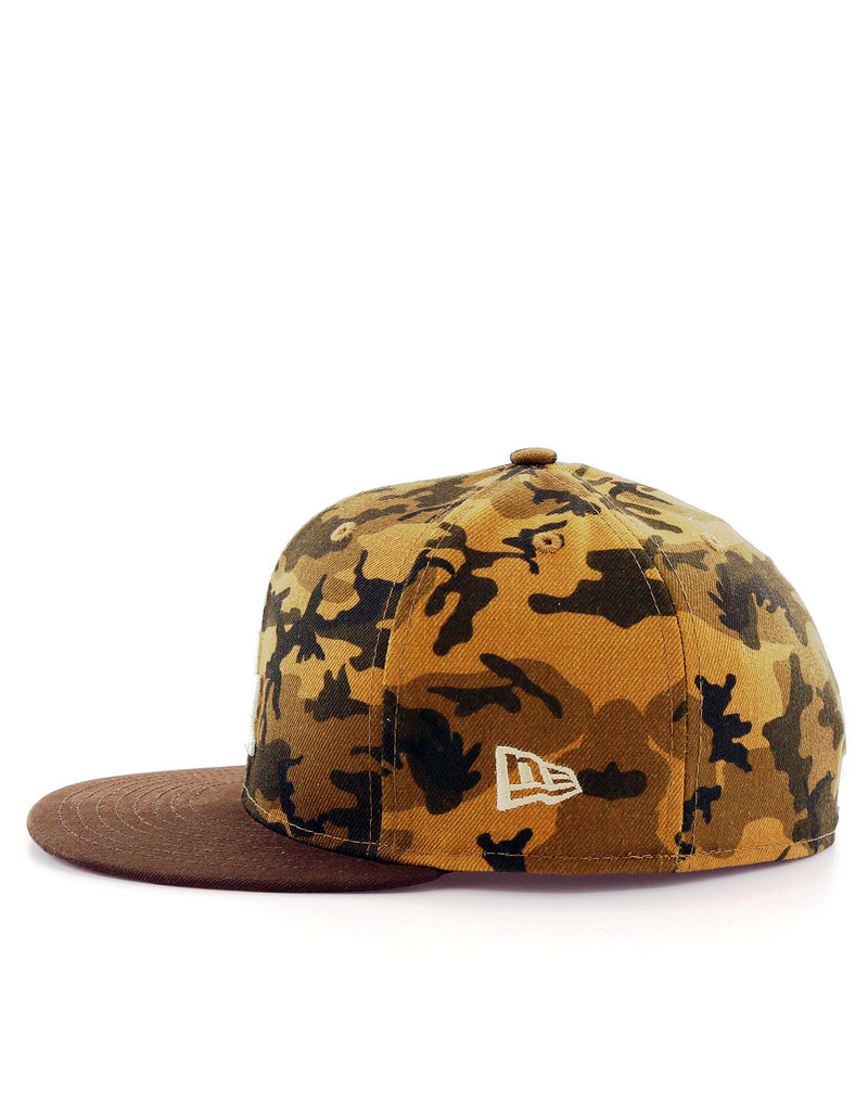 new era camo team fitted la dodgers desert camo cap caps. Black Bedroom Furniture Sets. Home Design Ideas