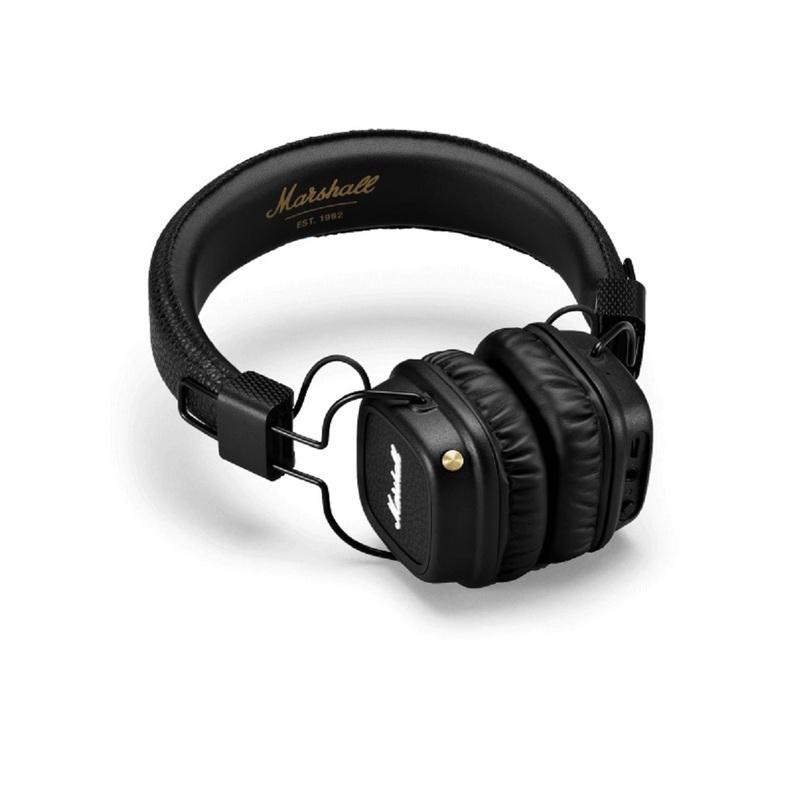 e552ec93f7e Marshall Major II Black Bluetooth Headphones | On-Ear Headphones |  Headphones | Headphones + Audio | Electronics & Accessories | Virgin  Megastore