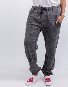 Happiness Anthracite Sweatpants