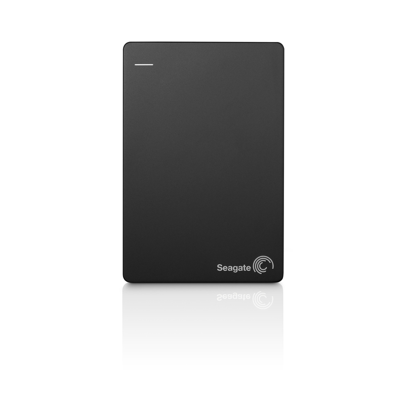 Seagate Backup Plus Slim Portable Drive 1TB, Black