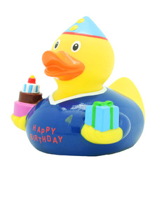 Lilalu Birthday Boy Rubber Duck