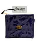 Navy Quilted Coin Purse