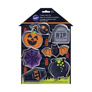 Wilton Hal Haunted House Metal Cutter [Pack of 7]
