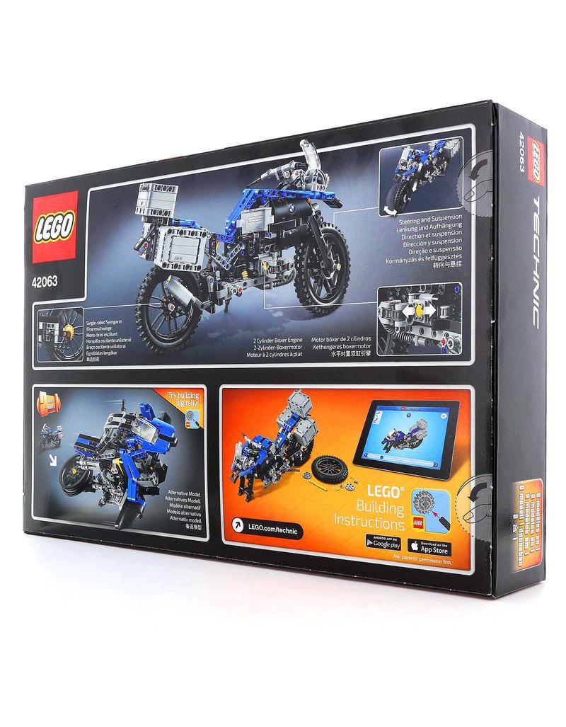 Lego Technic Bmw R 1200 Gs Adventure 42063 Building Blocks