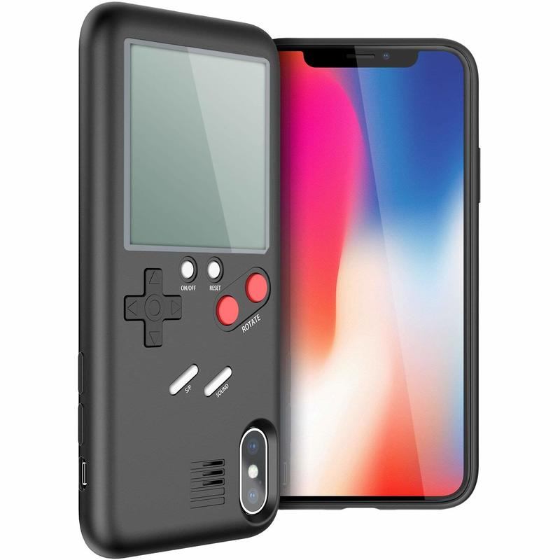 the latest ee326 51a42 Wanle Tetris Case Black for iPhone X