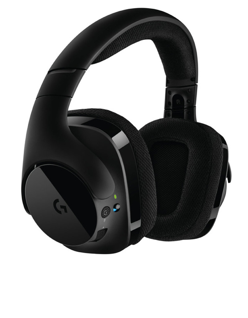Logitech G 533 Wireless DTS 7 1 Surround Gaming Headset