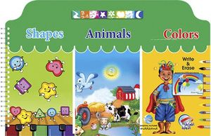 I Write Shapes Animals Colors Eng Small