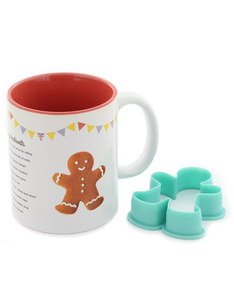 Wow Stuff Great British Bake Off Gingerbread Man Recipe Mug