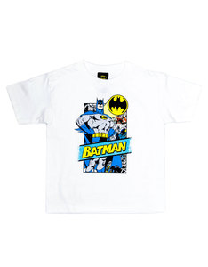 Batman Out Of The Pages White T-Shirt