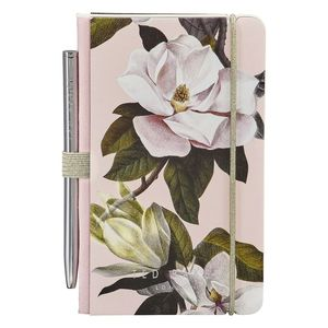 Ted Baker Mini Notebook And Pen Pink Opal