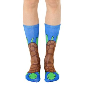 Living Royal Turtle Crew Unisex Socks Os