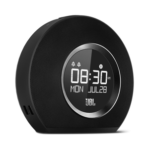 JBL Horizon Black Bluetooth Clock/Radio Speaker