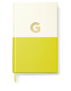 Kate Spade Dipped Initial Collection G Journal