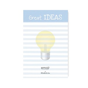 EMOJI GREAT IDEAS NOTEPAD 10X15 CM
