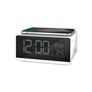 Energea WiClock Clock with Lamp and Wireless Charging