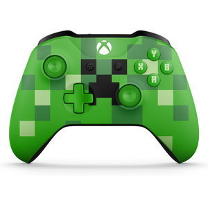 Microsoft Minecraft Creeper Controller For Xbox One
