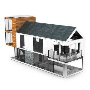 Arckit 120 Architectural Model Building Kit [400+ Pieces]