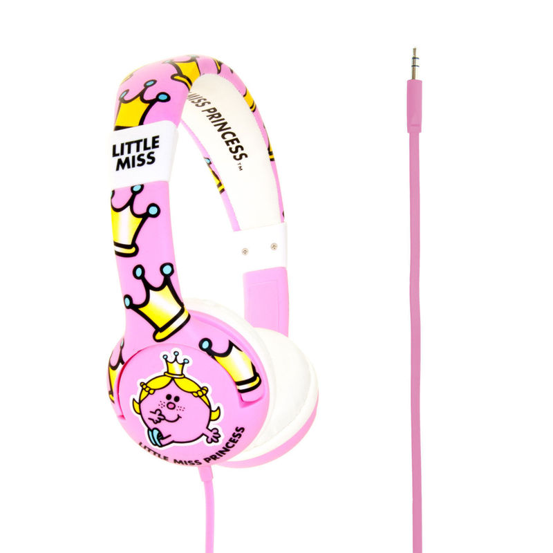 Mr Men Little Miss Princess Junior Headphones