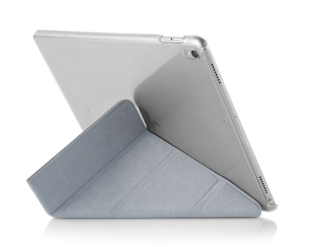 Pipetto Origami Case Silver Clear For Ipad 105 Inch Cases