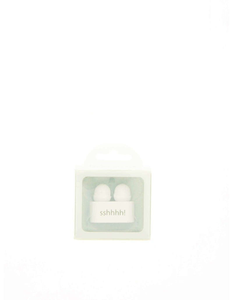 If Reader's Ear Plugs White