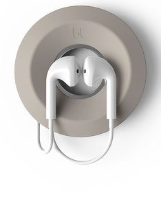 Bluelounge Yoyo Light Grey Earbuds Organizer