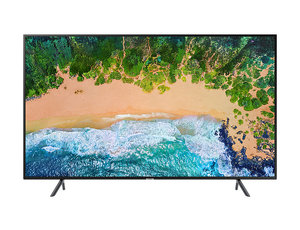 "Samsung 55"" Nu7100 Flat Smart 4K Uhd Tv Series 7"