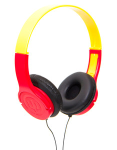Wicked Audio Rad Rascal Ketchup/Mustard Kids Headphones