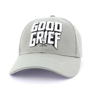 Exhale Good Grief Unisex Cap Grey