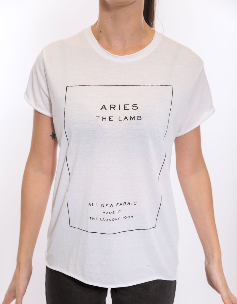 Aries Label Womens Rolling Tee