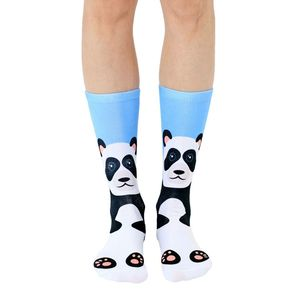 Living Royal Panda Women's Crew Socks