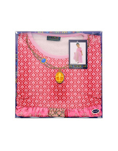 Play N Wear Kids Pink Princess Costume Set