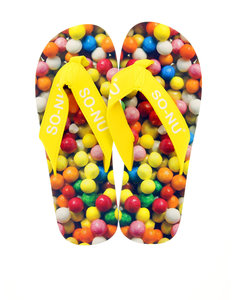 So Nu Sweets Women's Flip Flops