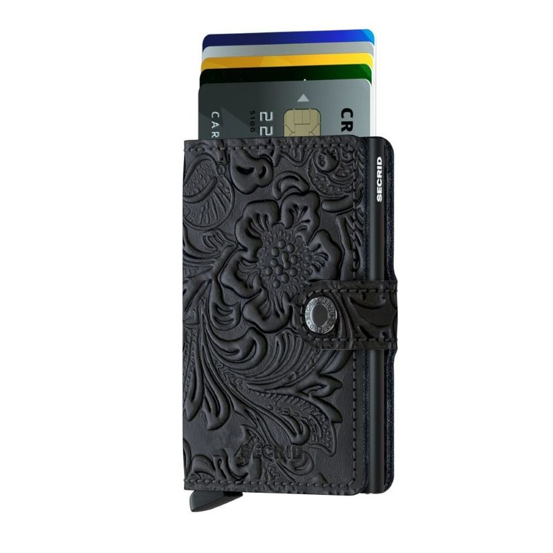 Secrid Mini Wallet Ornament Black